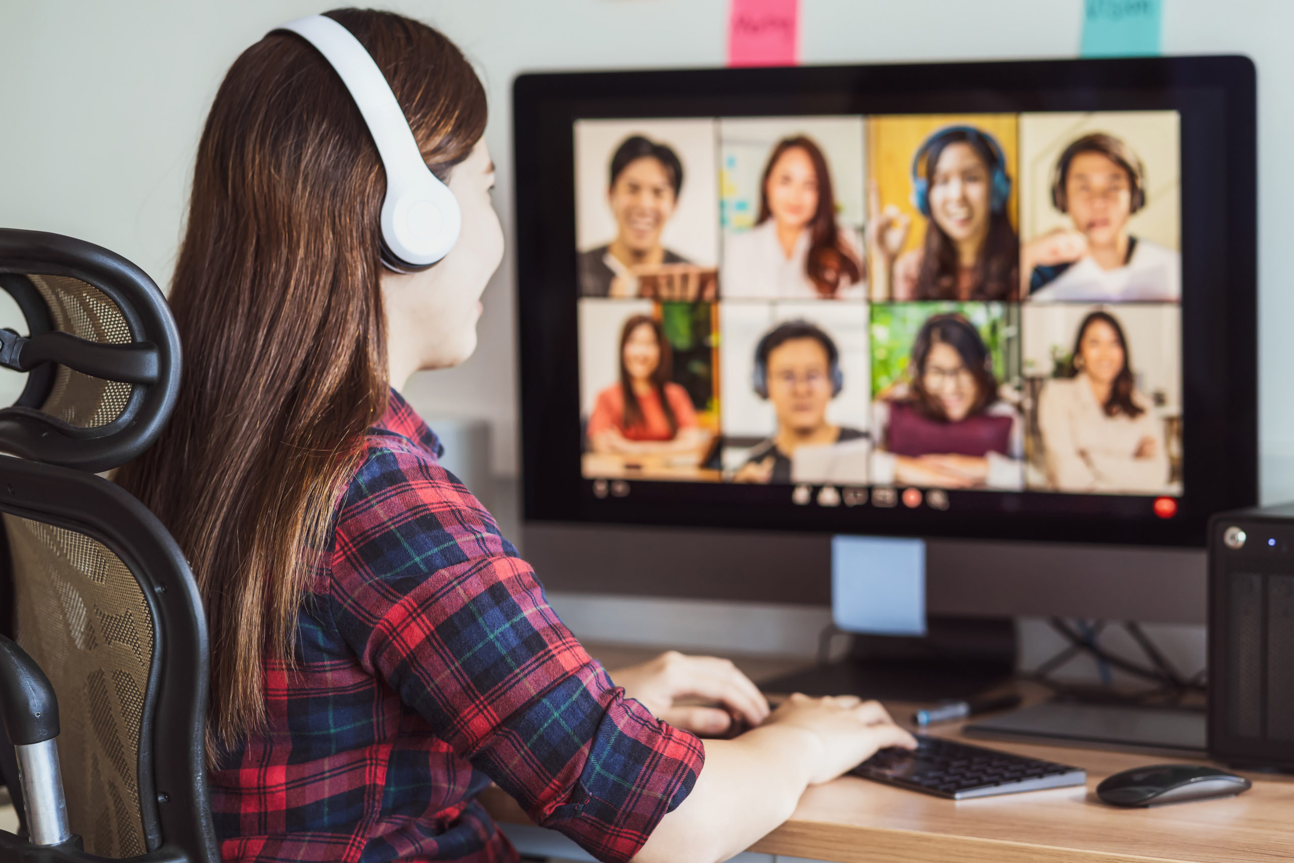 Educación online presencial